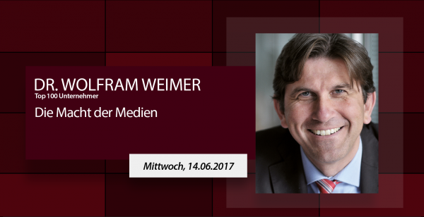 Speakers Impulse - Dr. Wolfram Weimer